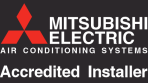 Mitsubishi air conditioning systems accredited installer
